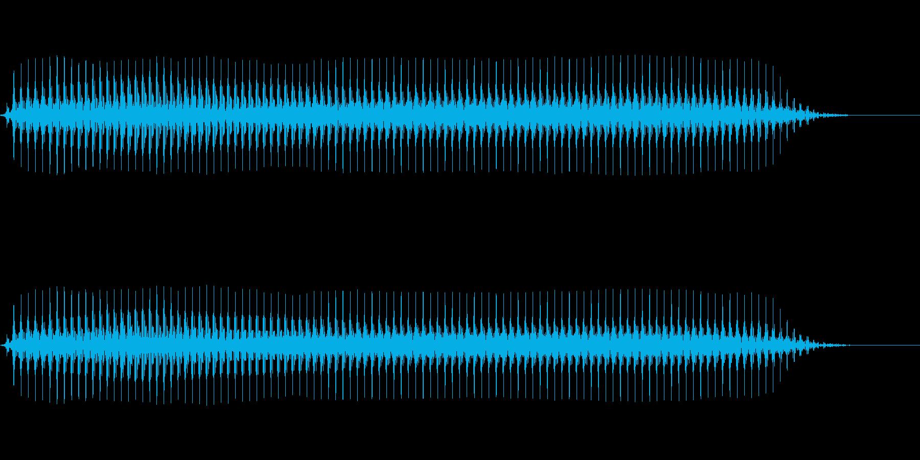 【SE 効果音】効果音その6の再生済みの波形