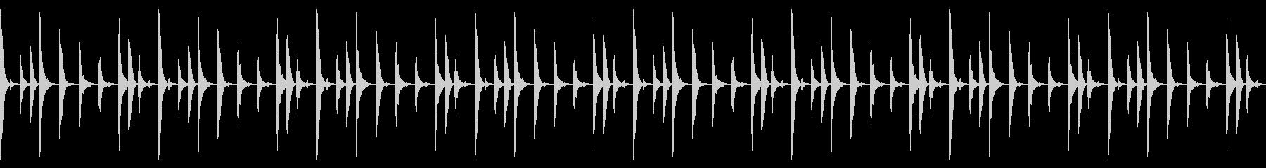 Future bassのドラムパターンの未再生の波形