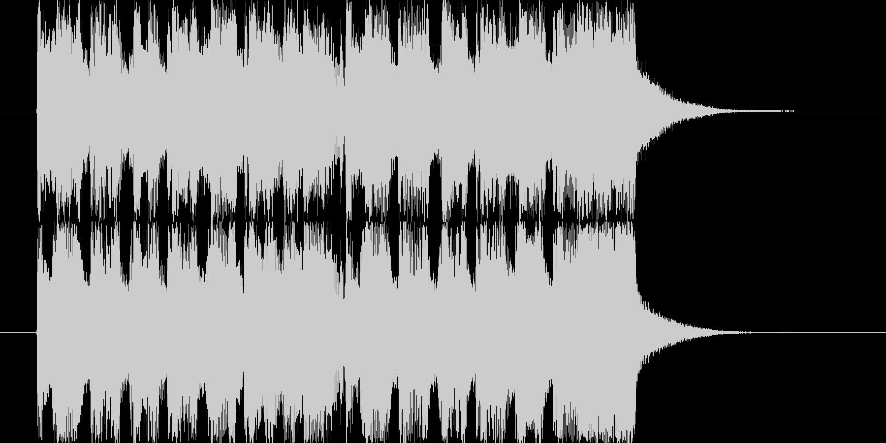 CM。15秒。の未再生の波形