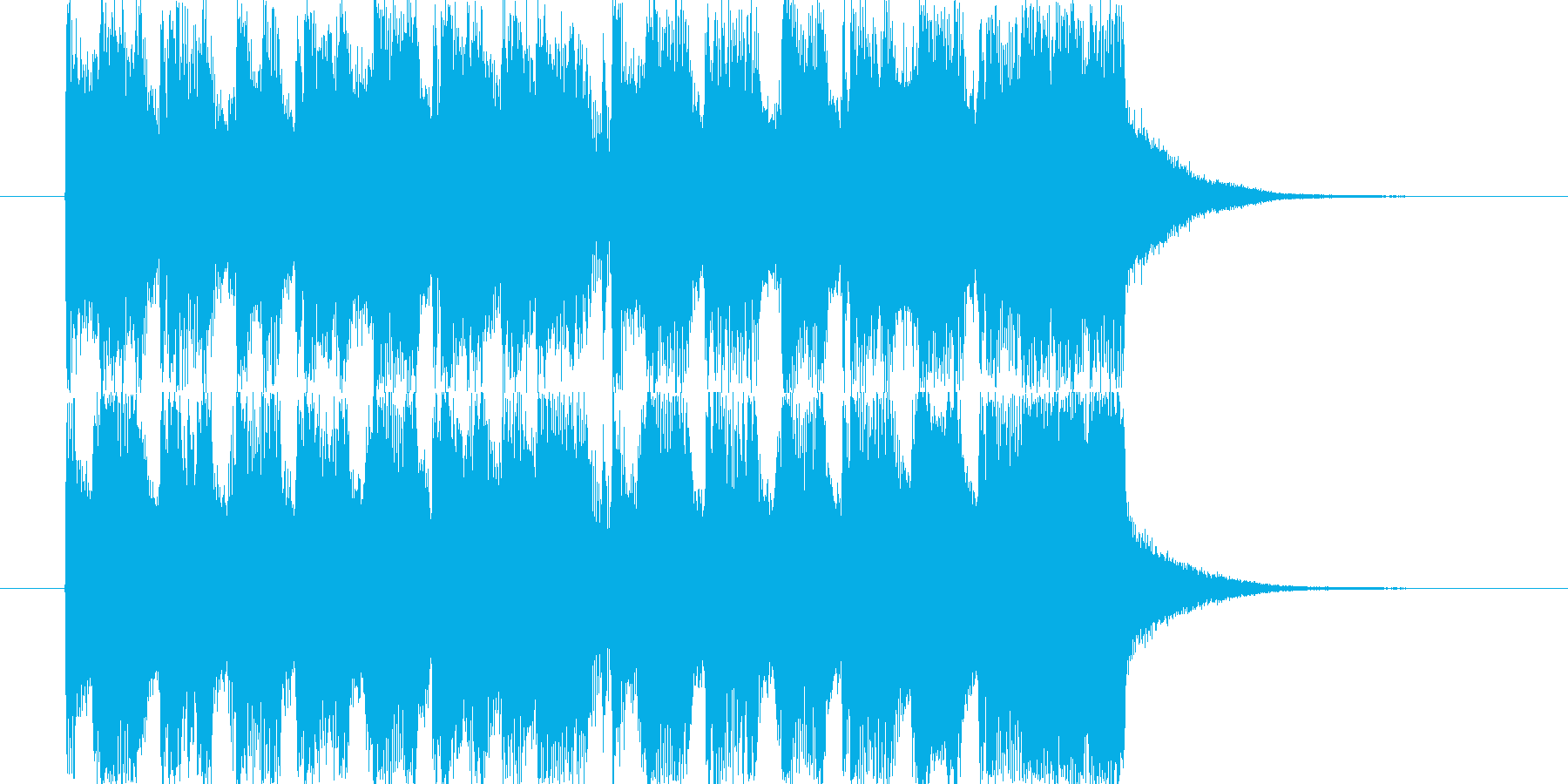 CM。15秒。の再生済みの波形