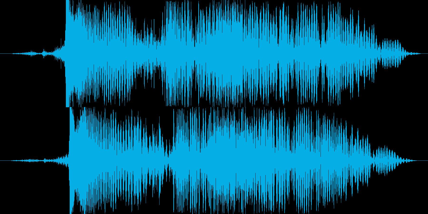 SF レーザーの再生済みの波形
