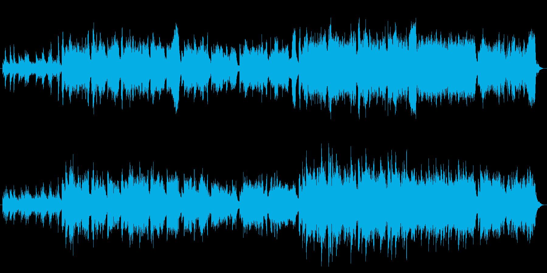 ケルト ハープと笛 哀愁ある切ない曲の再生済みの波形