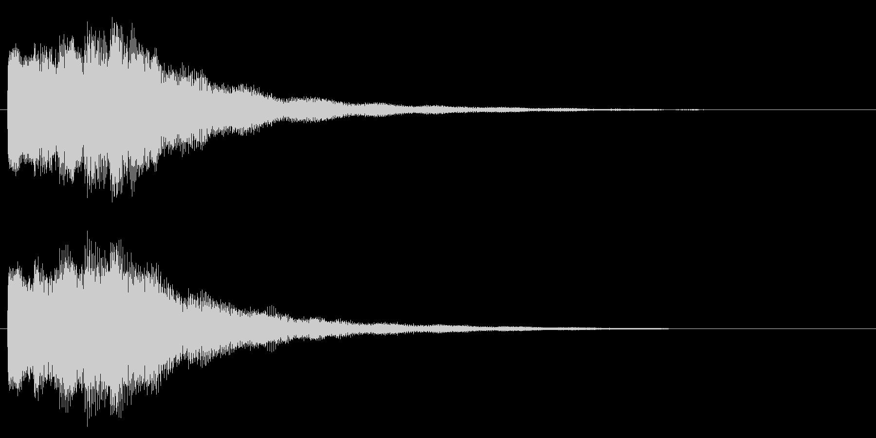 スタート音/宇宙/シューティング系の未再生の波形