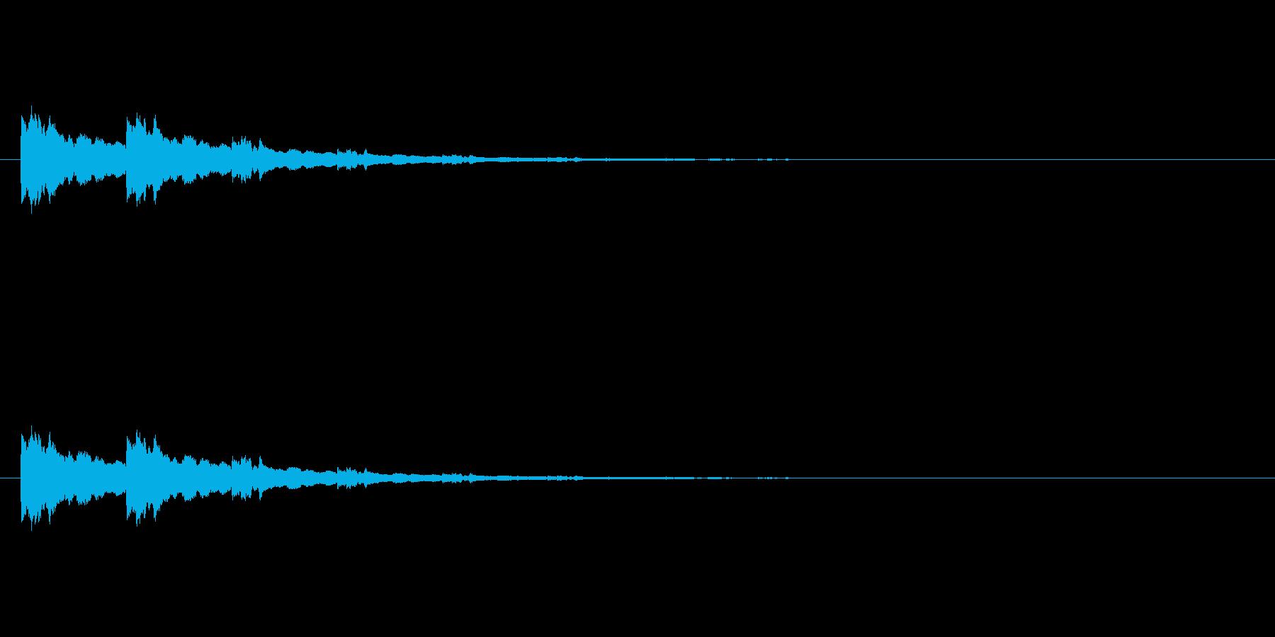 【ひらめき10-3】の再生済みの波形