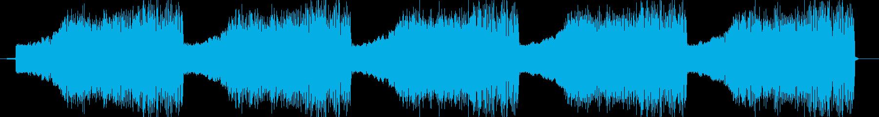 ビビビビビビッ!(警告音)の再生済みの波形