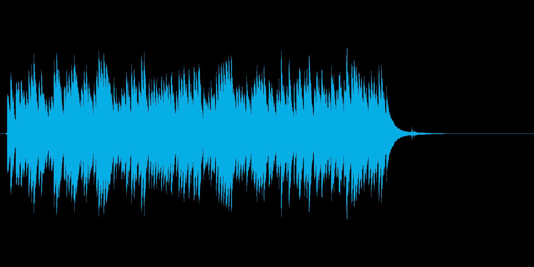 ジリリリ...(目覚まし時計、ベル)の再生済みの波形