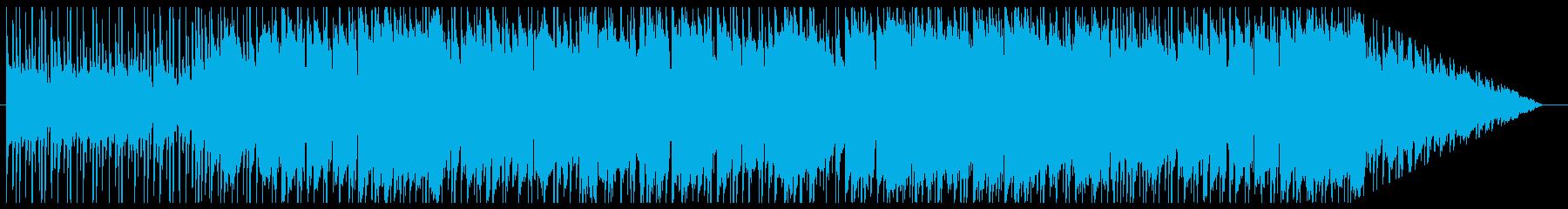 民族調のフィールド曲の再生済みの波形