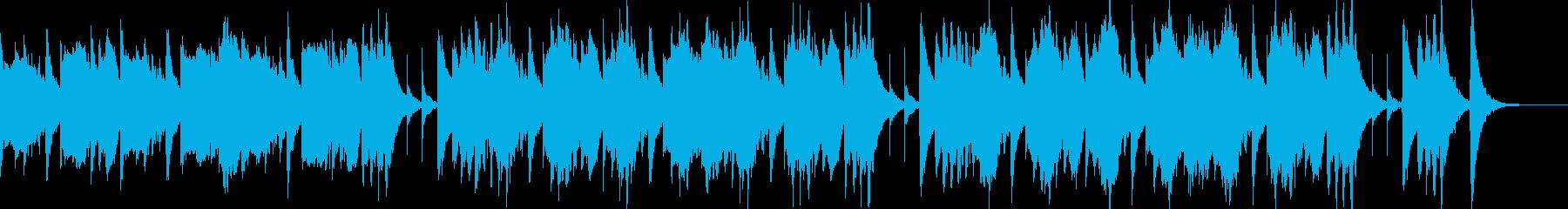 脱力感あるゆるい日常BGMの再生済みの波形