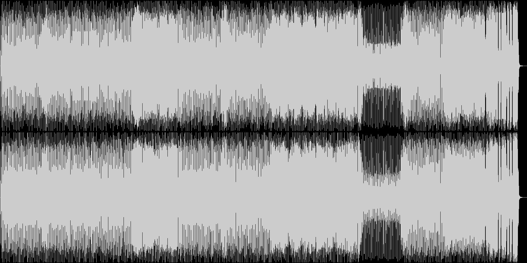 ブギー調のロックンロールナンバー♪OP曲の未再生の波形