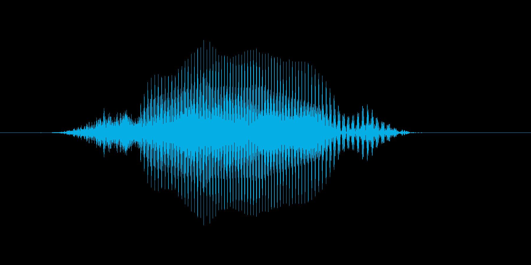スイングの再生済みの波形