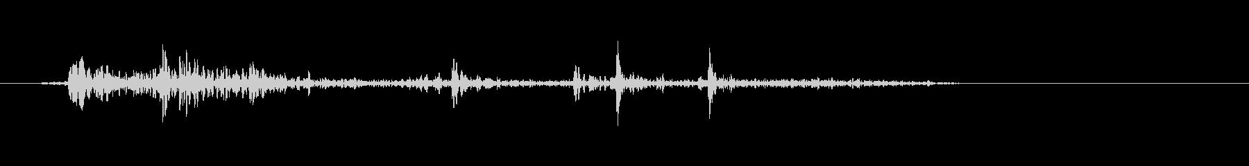 ドサッ(物音系)短めの未再生の波形