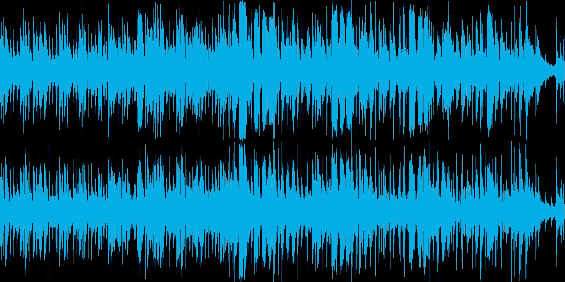 海の情景のあるボサノバやジャズなどの要…の再生済みの波形