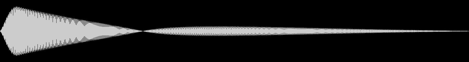 ピッ(ひよこ/動物園/鳴き声)の未再生の波形