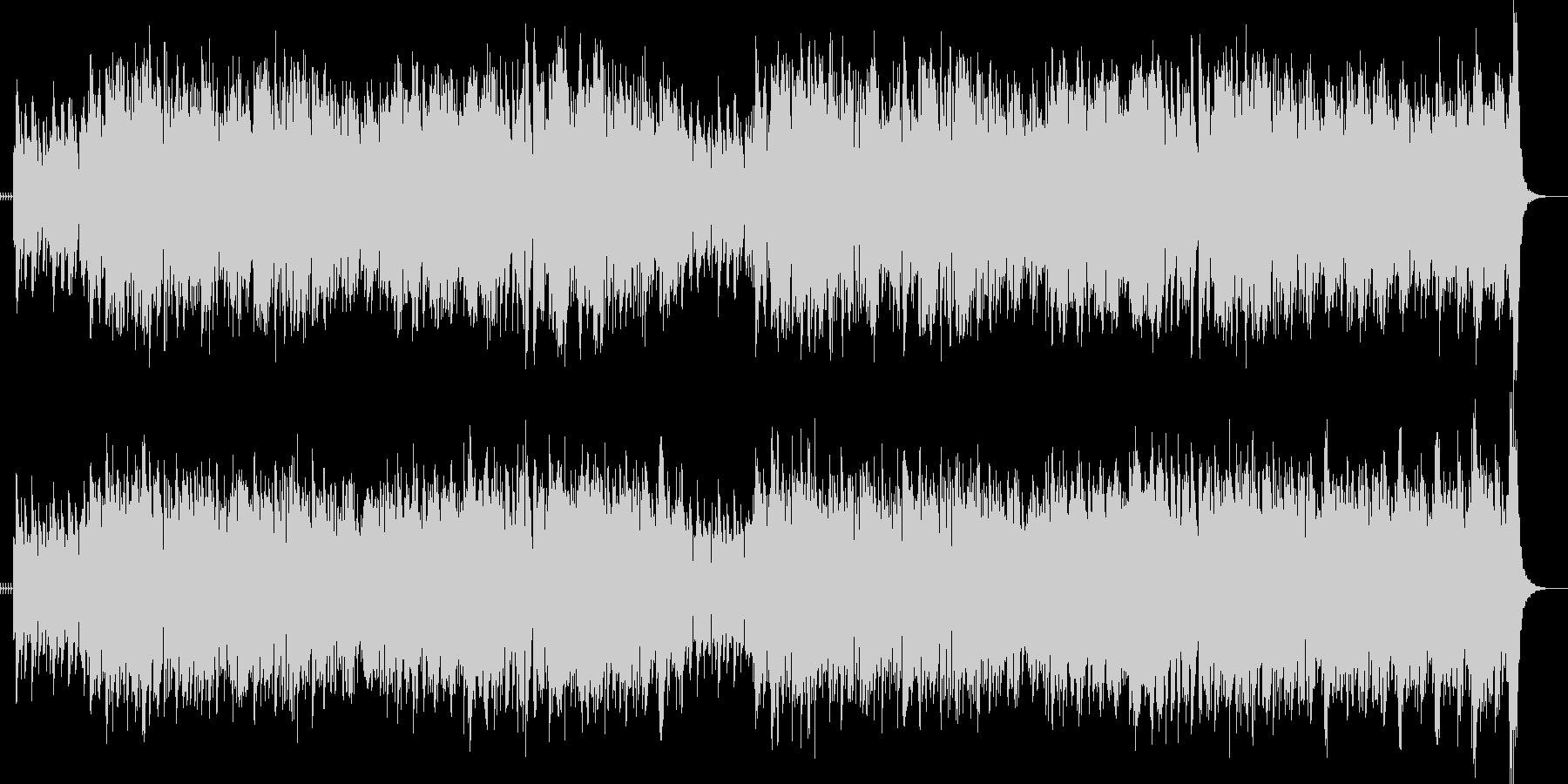 ジャズスタンダードリズミカルアップテンポの未再生の波形