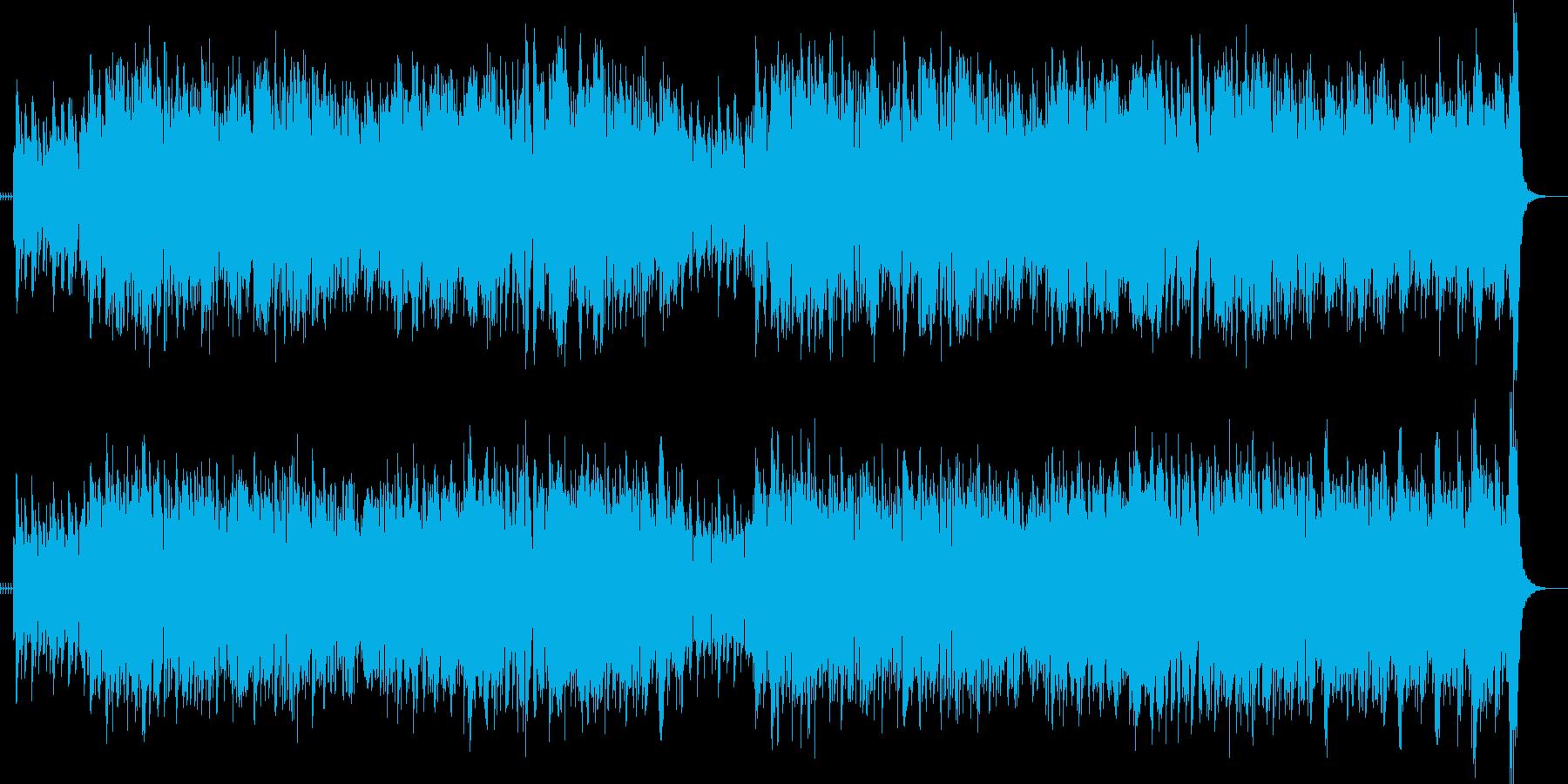 ジャズスタンダードリズミカルアップテンポの再生済みの波形