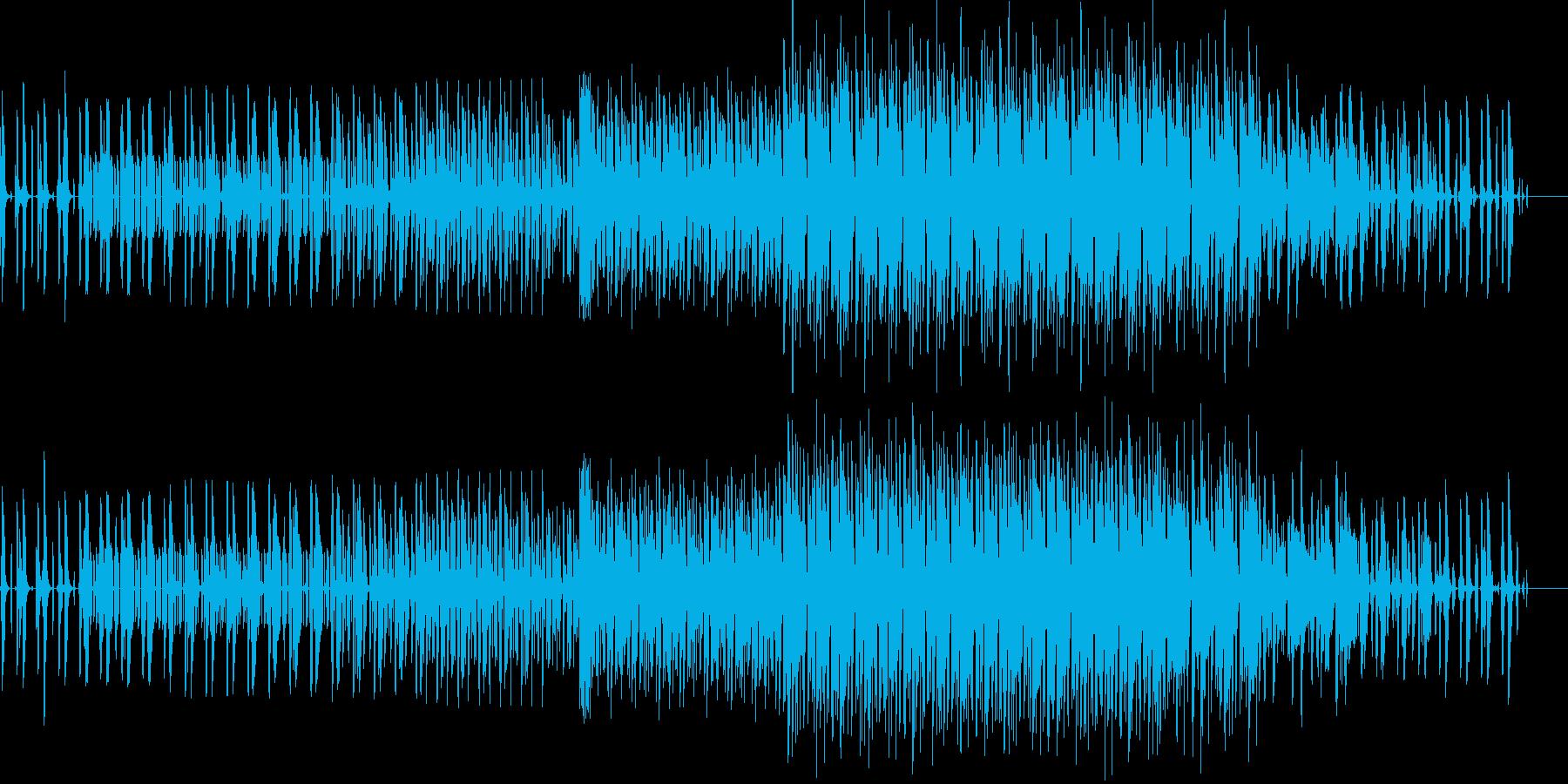 オシャレな変拍子ニカの再生済みの波形