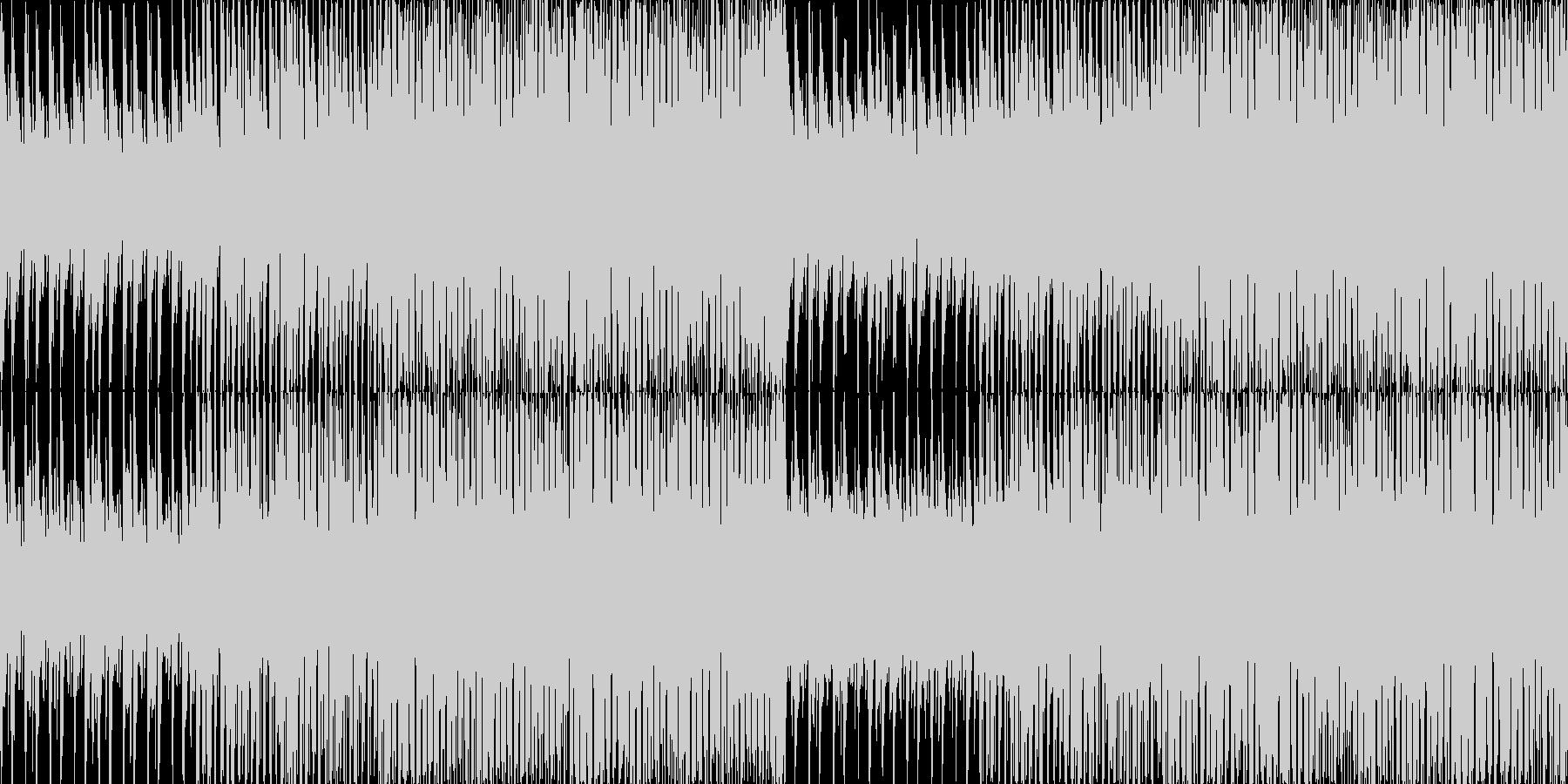 《軽快でおしゃれ》説明動画用BGMの未再生の波形