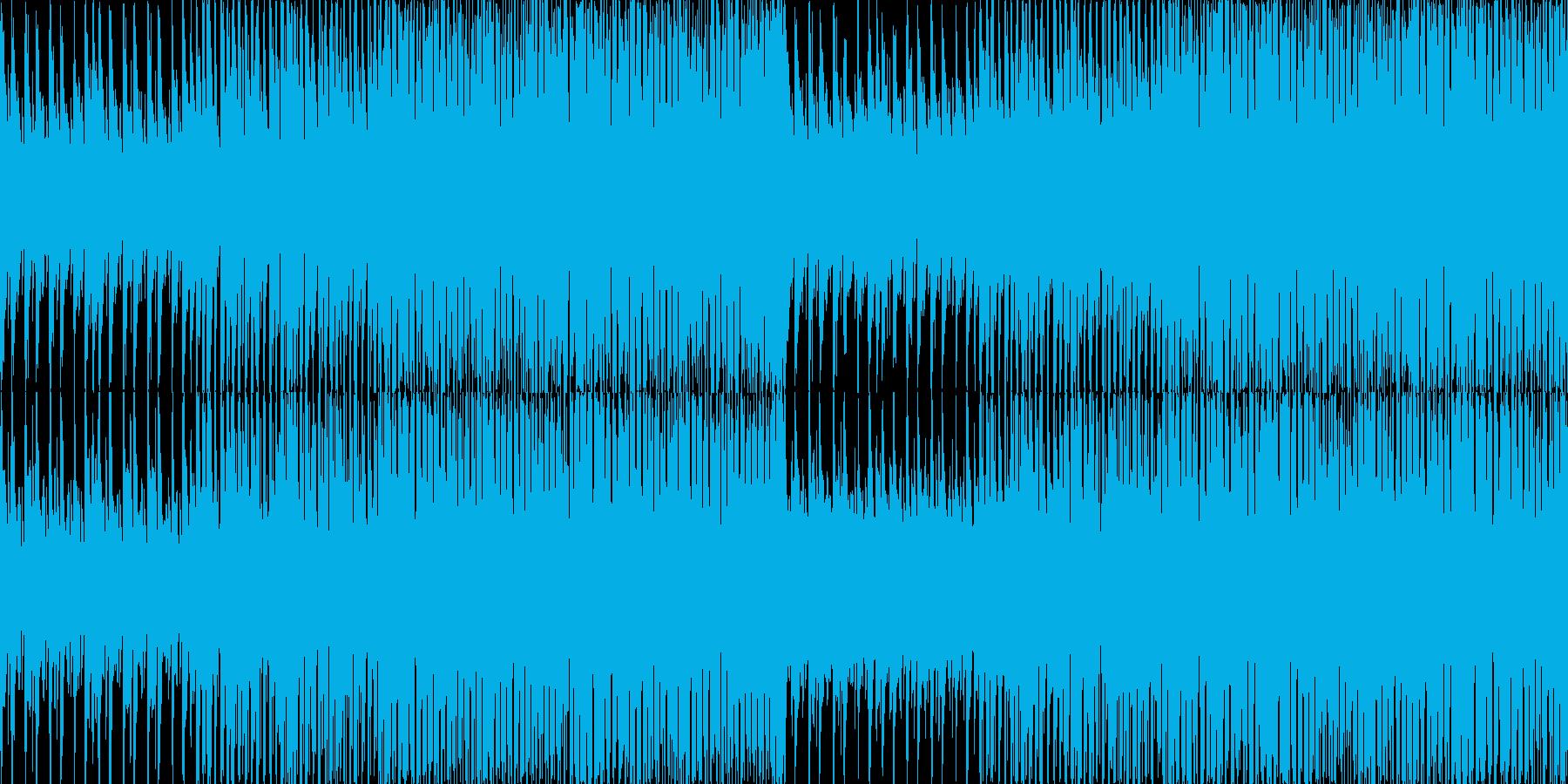 《軽快でおしゃれ》説明動画用BGMの再生済みの波形