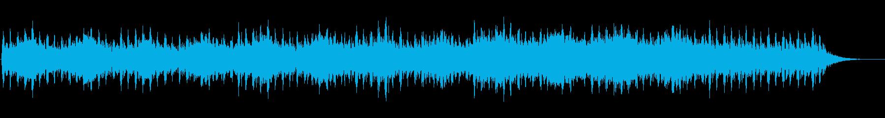 映画音楽のような不穏なストリングス曲の再生済みの波形