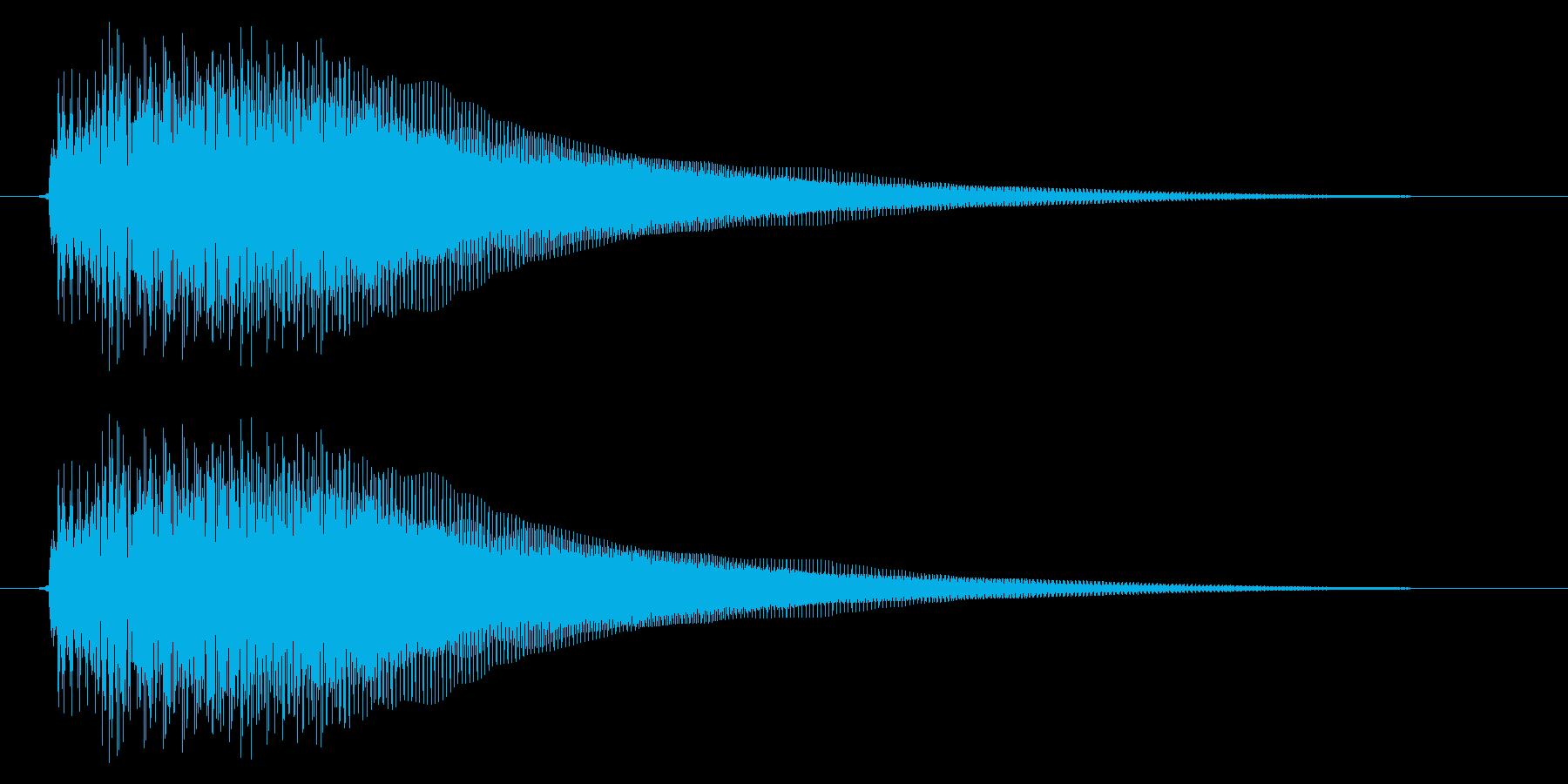キュイン/SF系/決定の再生済みの波形