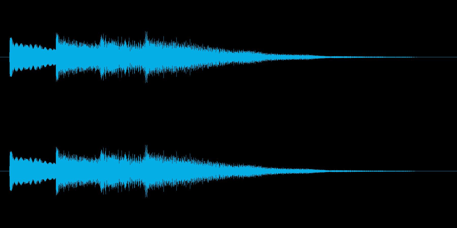 【チャイム 学校03-06】の再生済みの波形