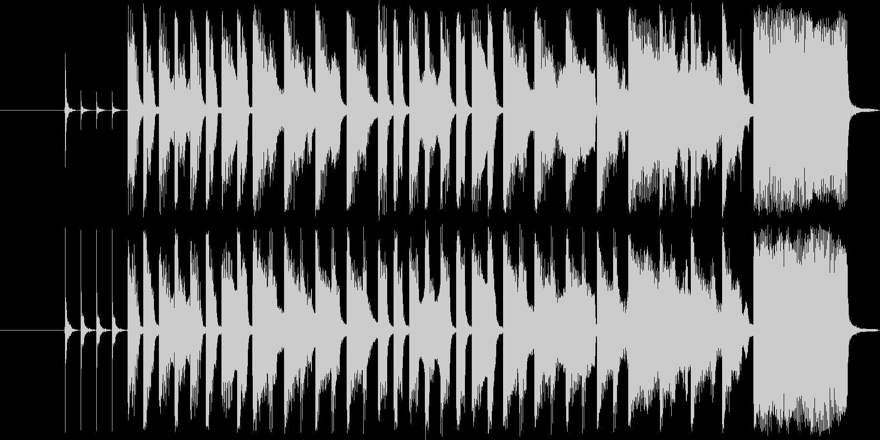 子供のワクワクする15秒CM曲の未再生の波形