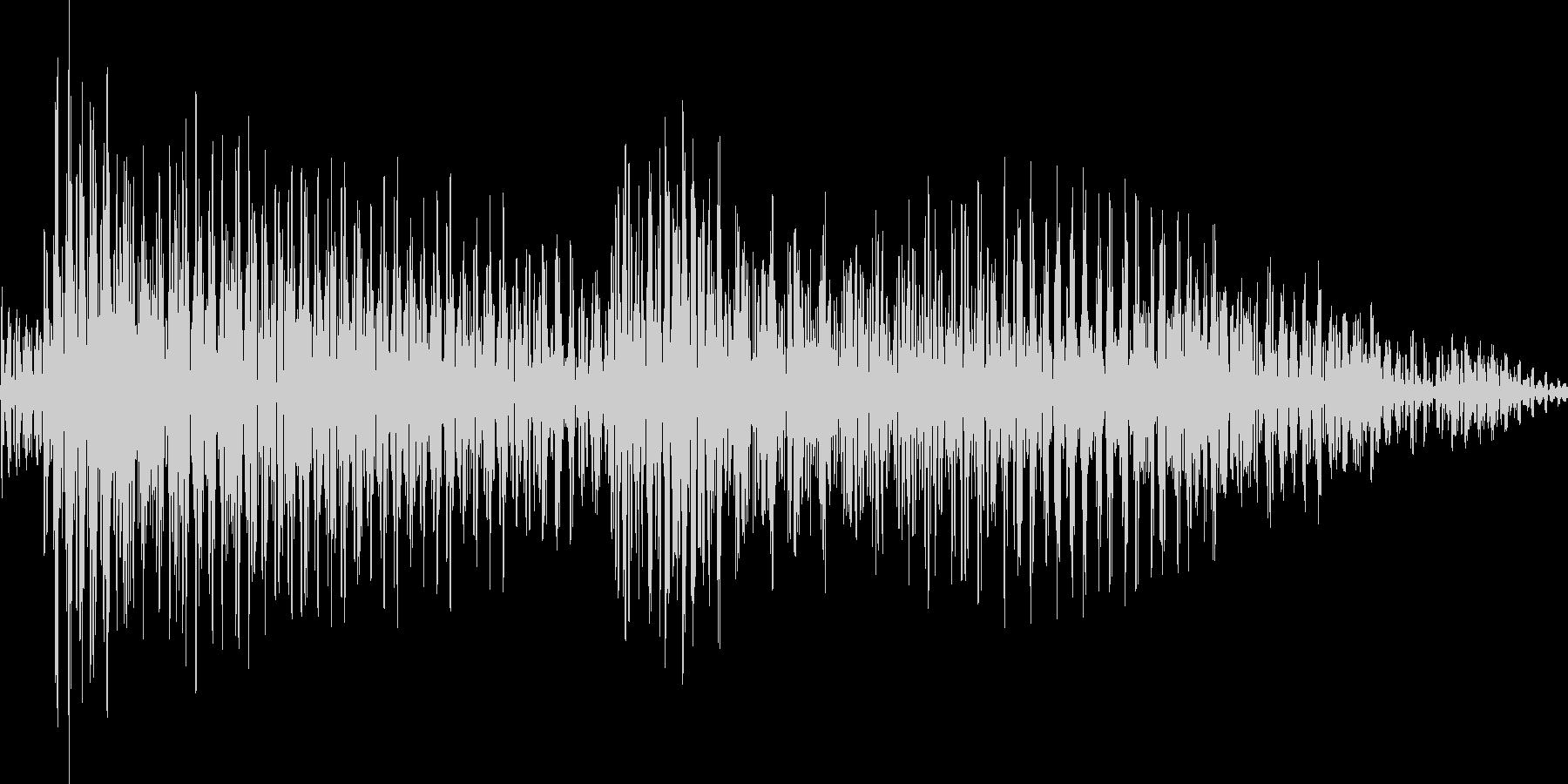 ジャジャン(カントリーギター)の未再生の波形