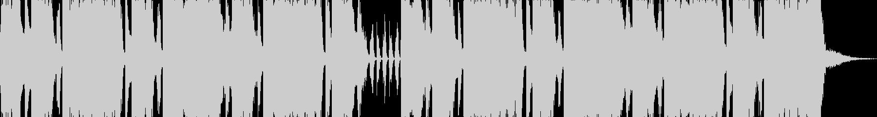 ロックエレキが気持ちい30秒ジングル2の未再生の波形