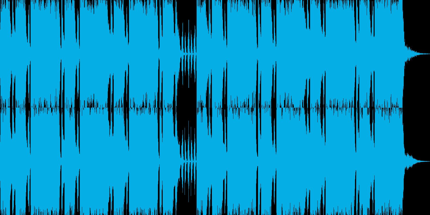 ロックエレキが気持ちい30秒ジングル2の再生済みの波形