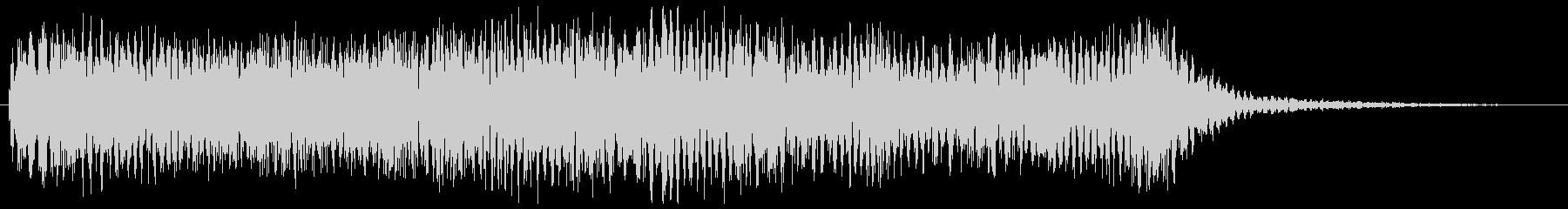 ニュース番組のオープニング等のシンセ音の未再生の波形