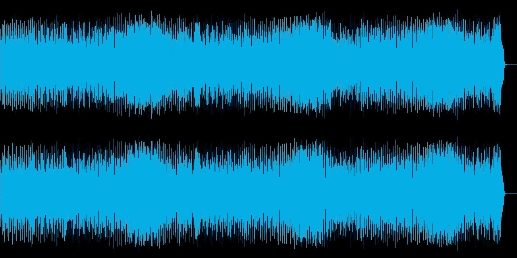 海を思う爽快フュージョン(フルサイズ)の再生済みの波形