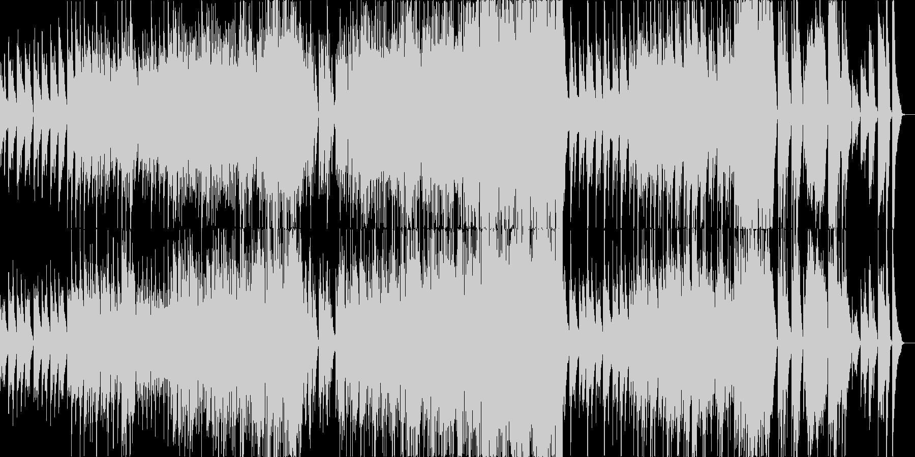 ピアノとドラムが奏でる絶妙なバラードの未再生の波形