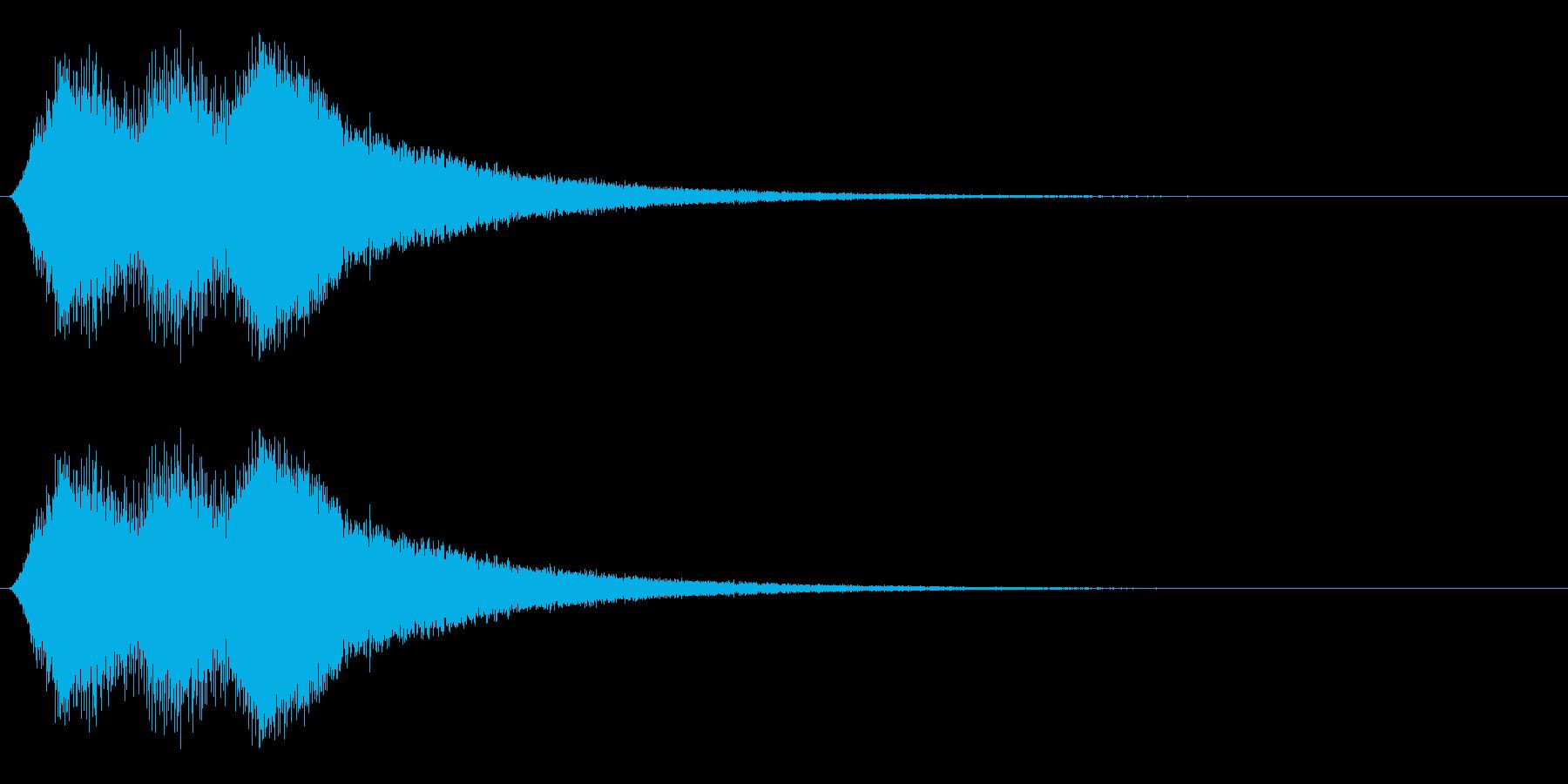 場面転換/移動/ワープの再生済みの波形
