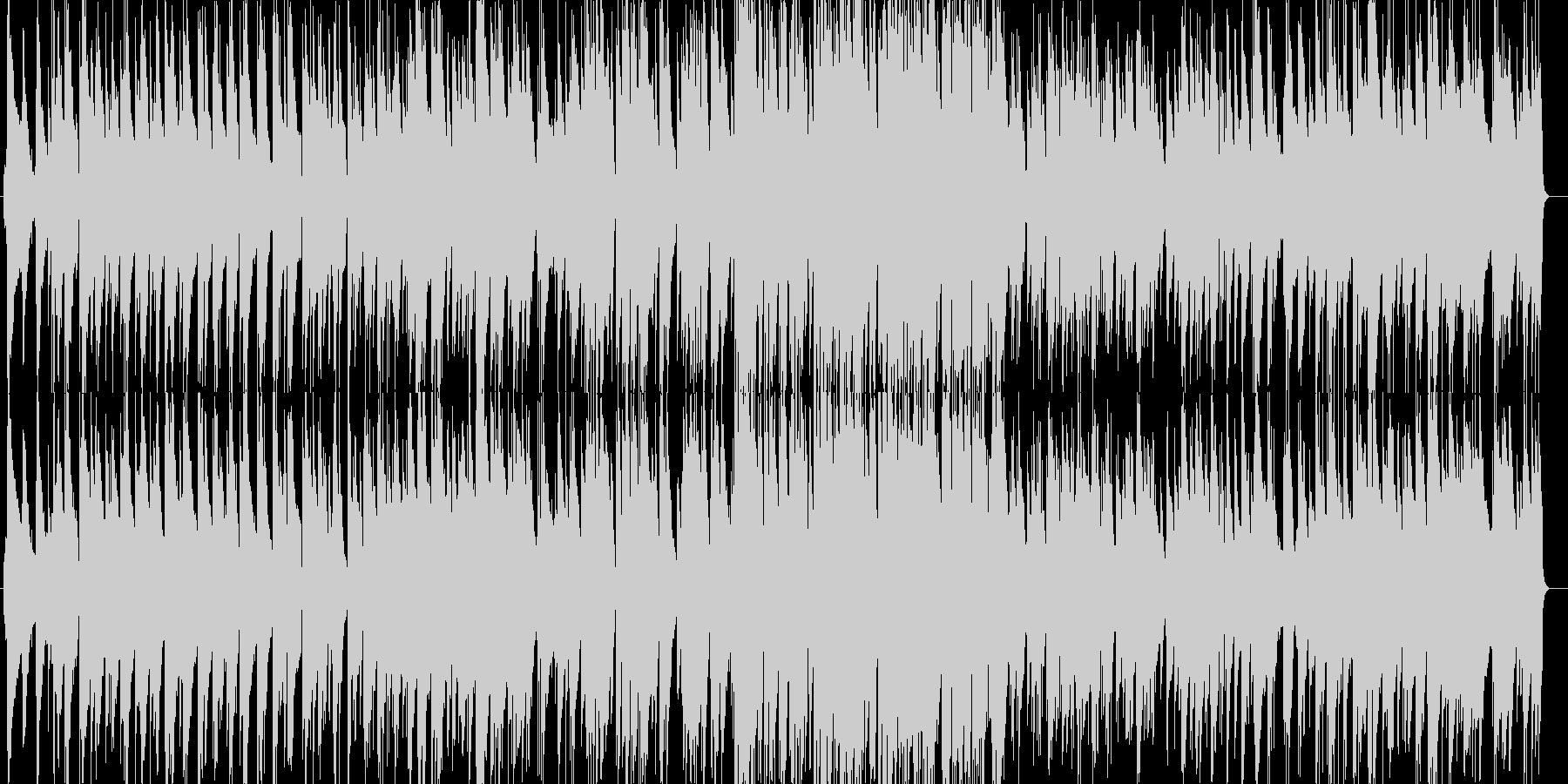 ケルト風のジャズピアノトリオアレンジの未再生の波形