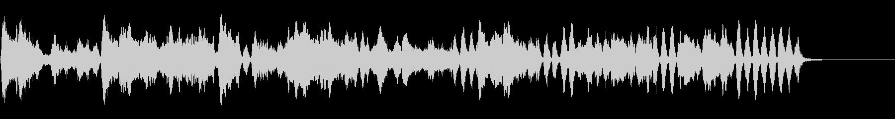 バッハのメヌエット(バイオリン演奏)の未再生の波形