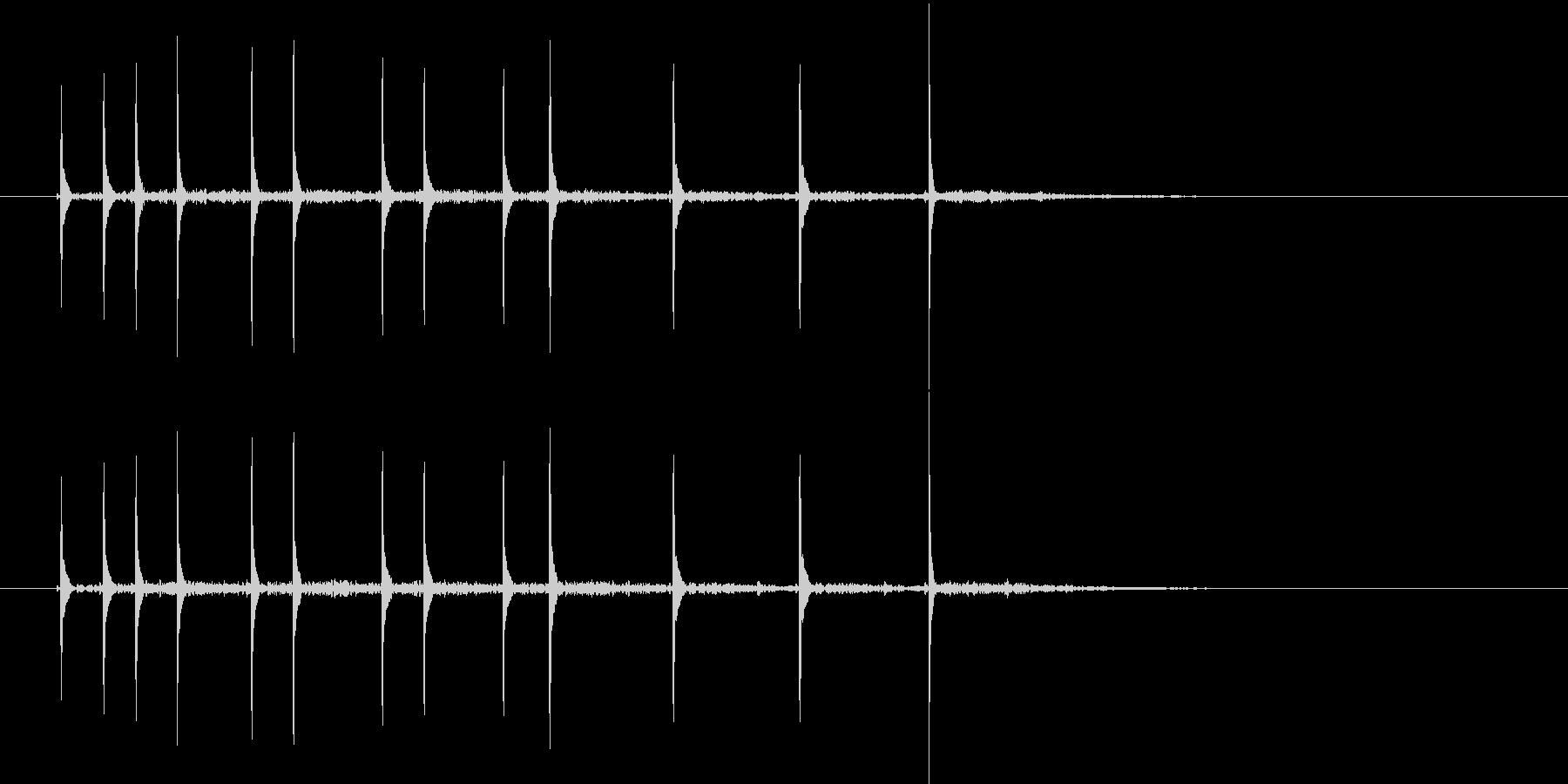 コココッココーチン(ハネ感のある効果音)の未再生の波形