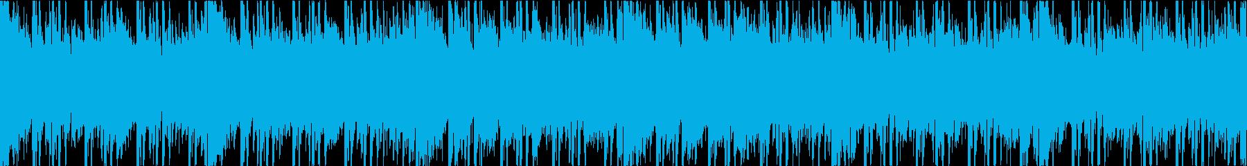賑やかビッグビート・バラエティ ループの再生済みの波形