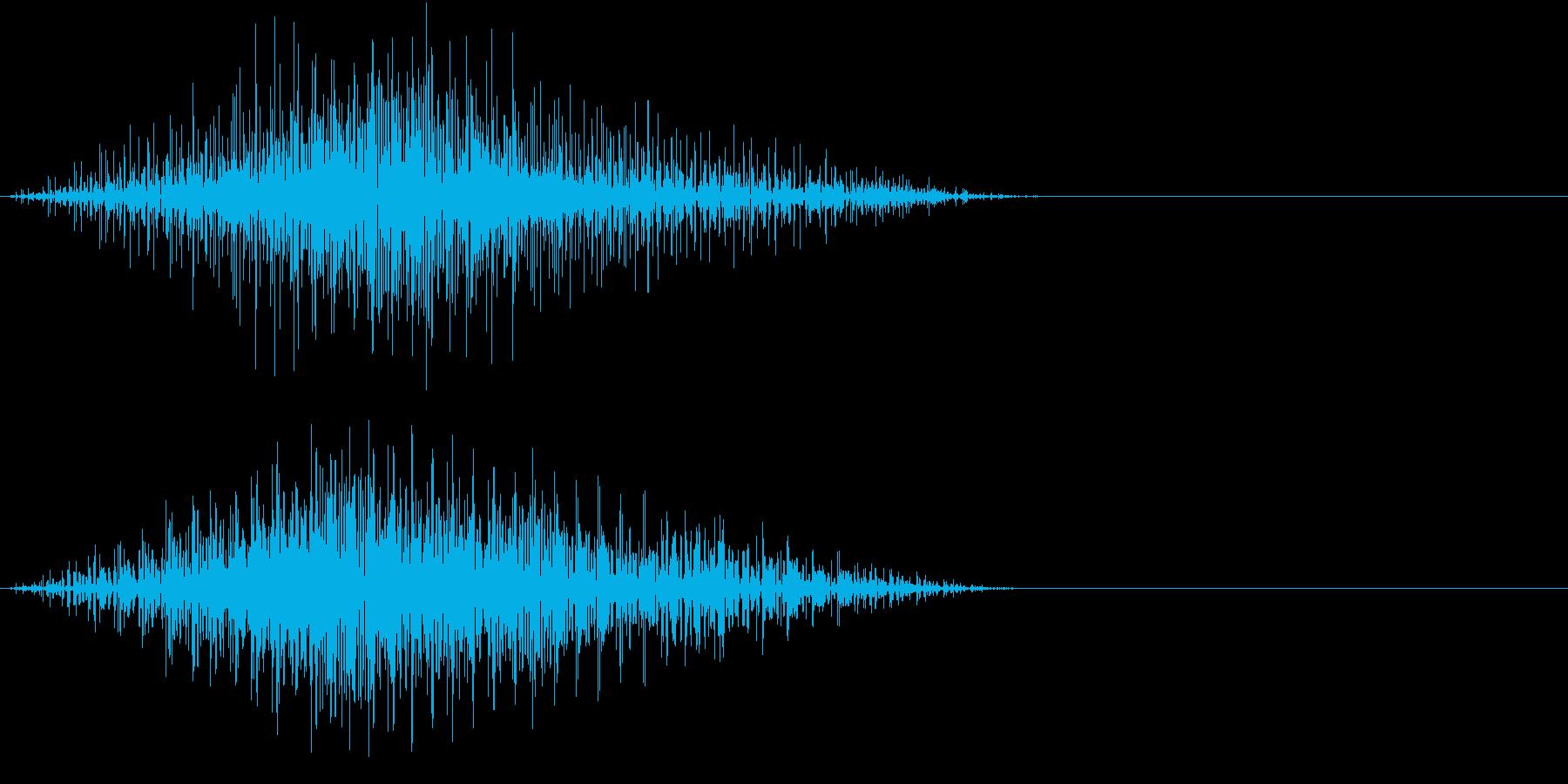 GAME 可愛いめなエンジン音 ブーンの再生済みの波形