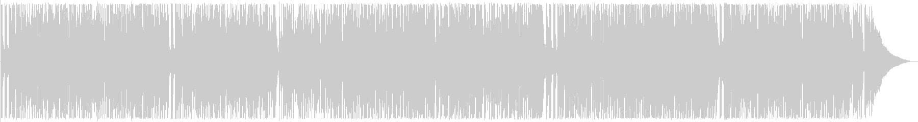 軽やかなギターサウンドの未再生の波形