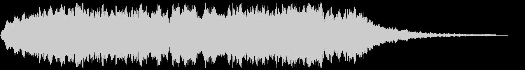 ホラーBGM 恐怖の演出 不気味な背景音の未再生の波形