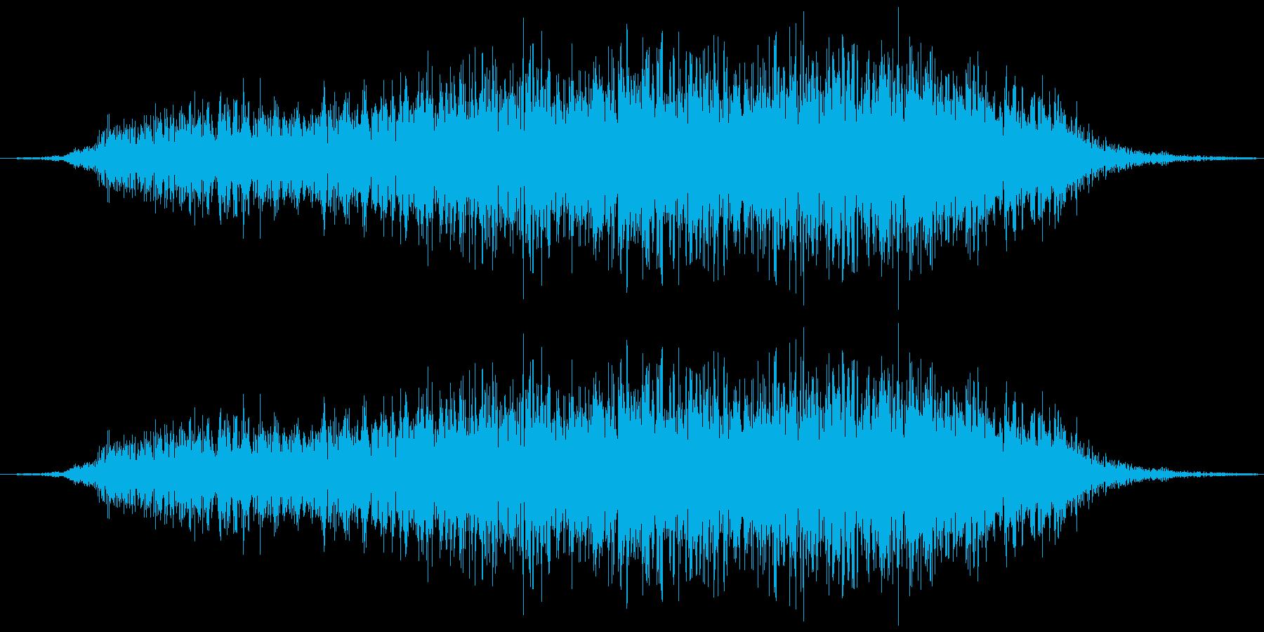 和風掛け声「よー」(女複数)の再生済みの波形