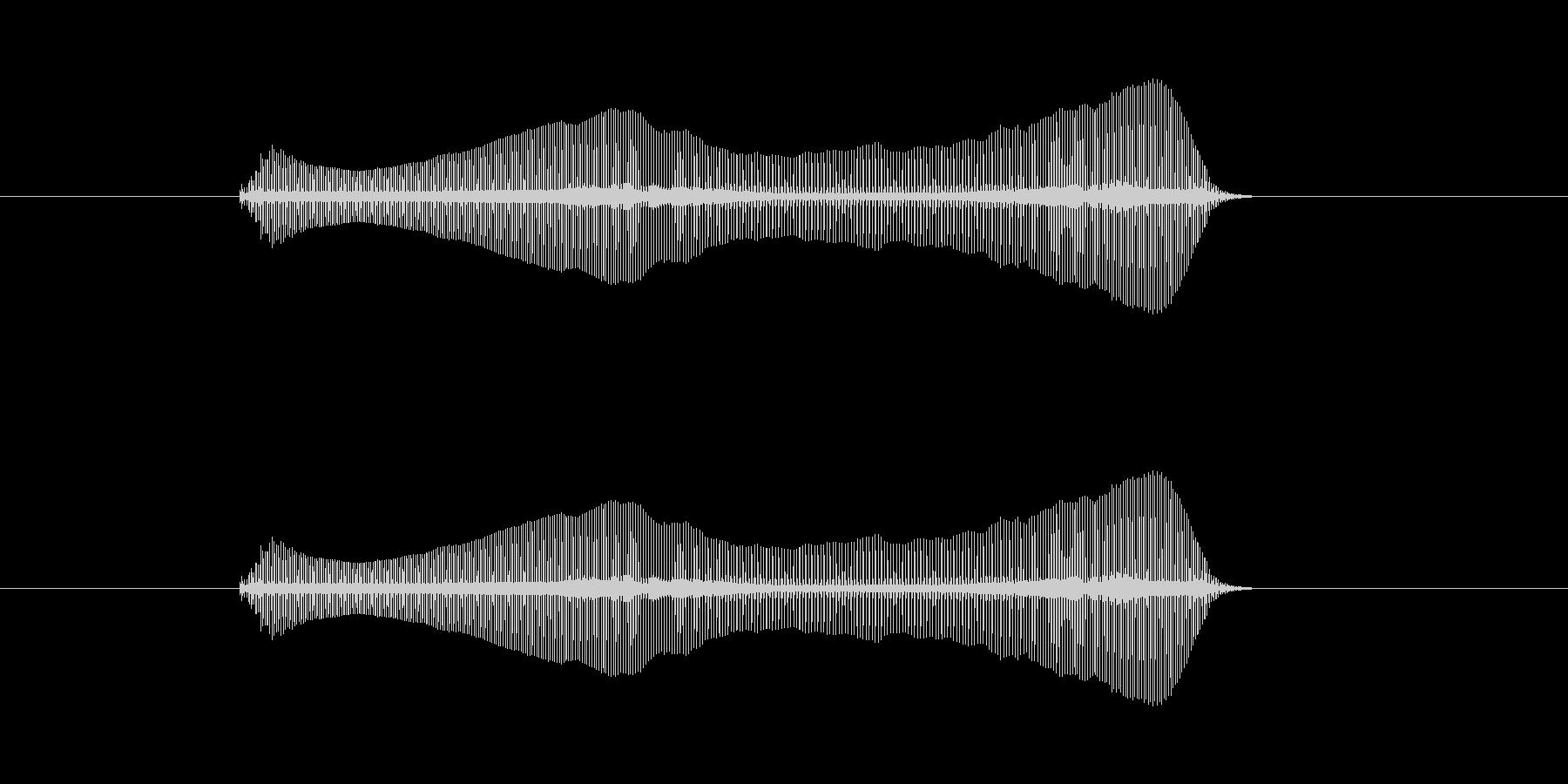 トロンボーンあるあるフレーズBPM140の未再生の波形