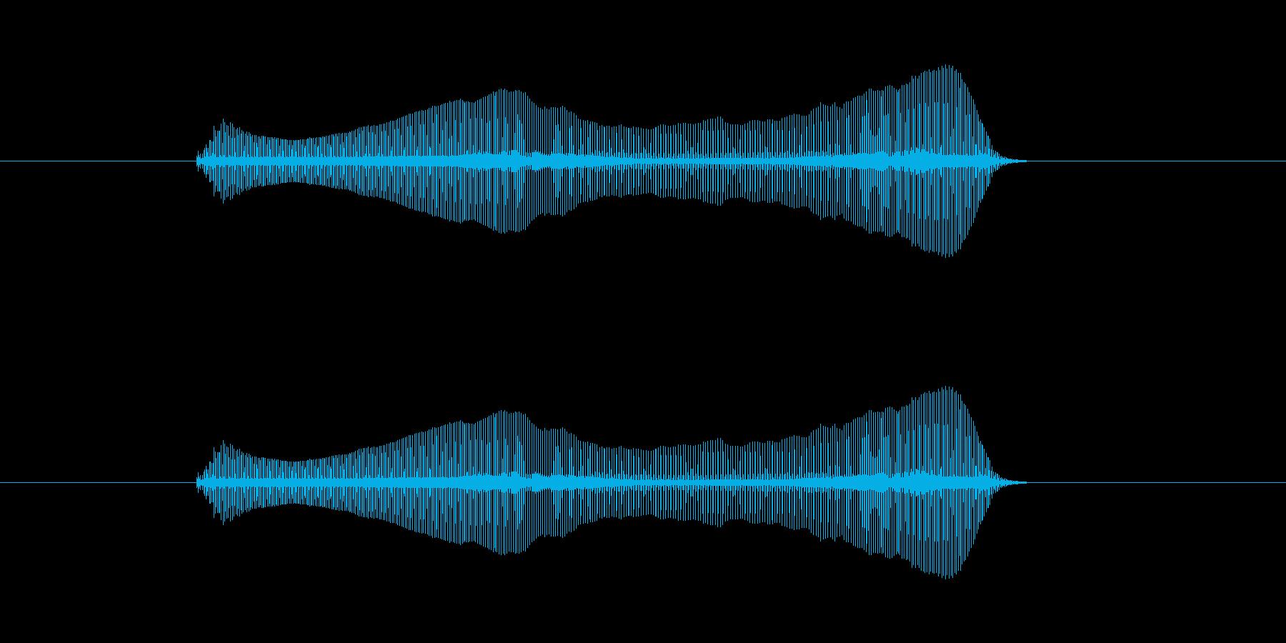 トロンボーンあるあるフレーズBPM140の再生済みの波形