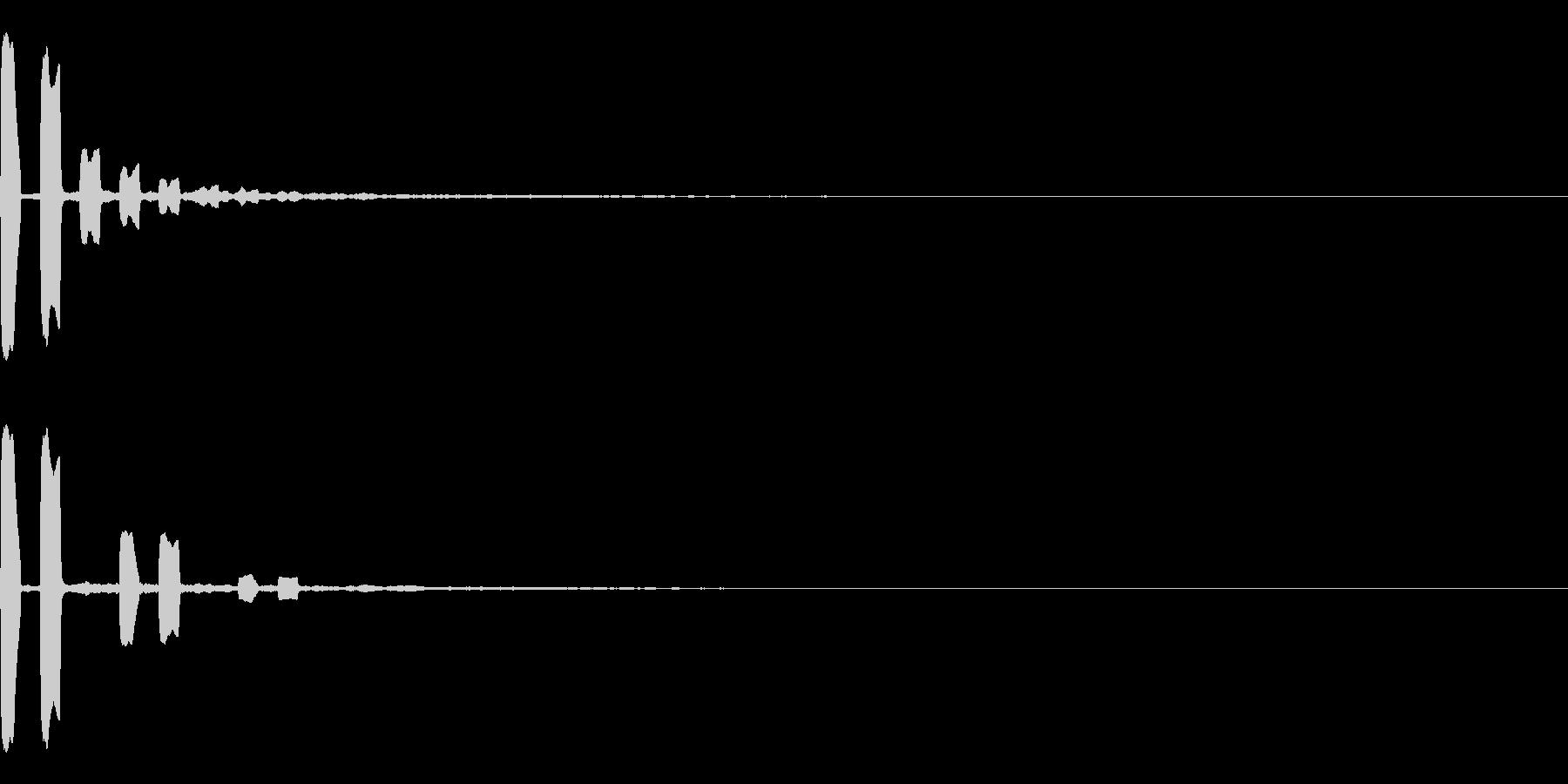 表示 テロップ 解答 解説 クイズの未再生の波形