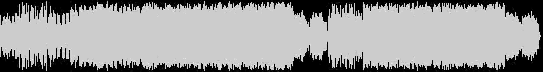 躍動感のあるシンセポップハウス系の未再生の波形