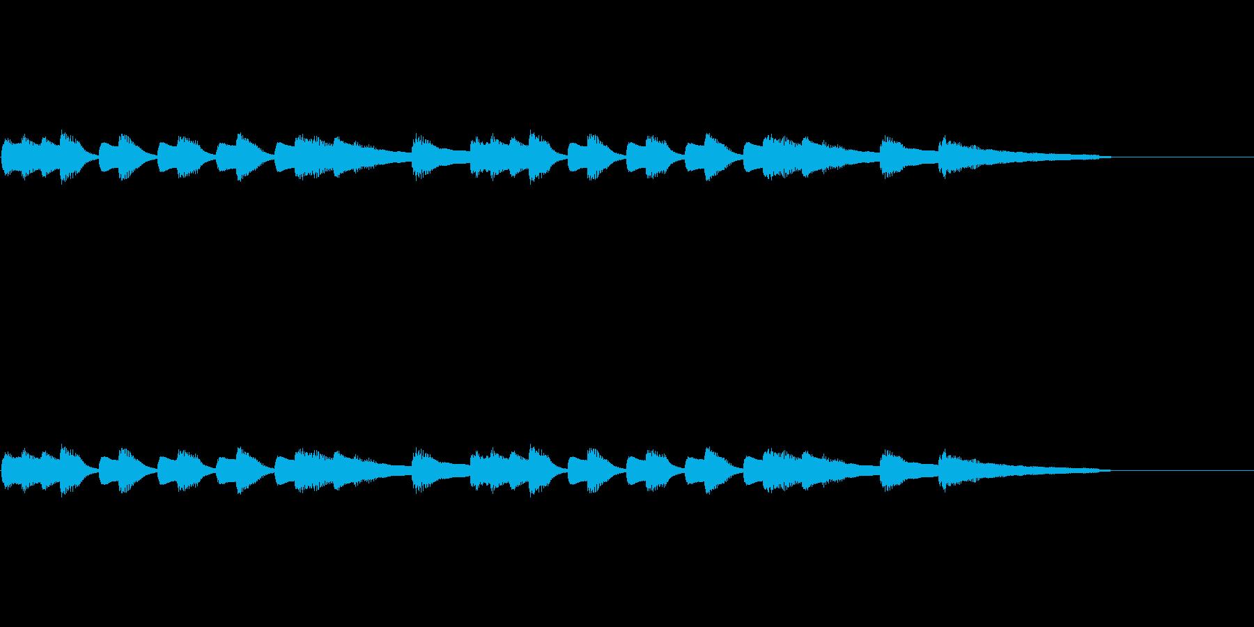 道化師、無気力、脱力系の再生済みの波形