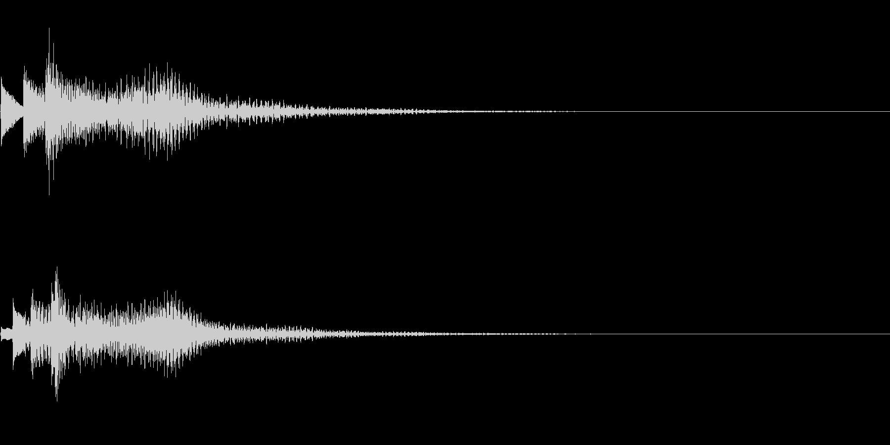 システム音11_シンセDPの未再生の波形