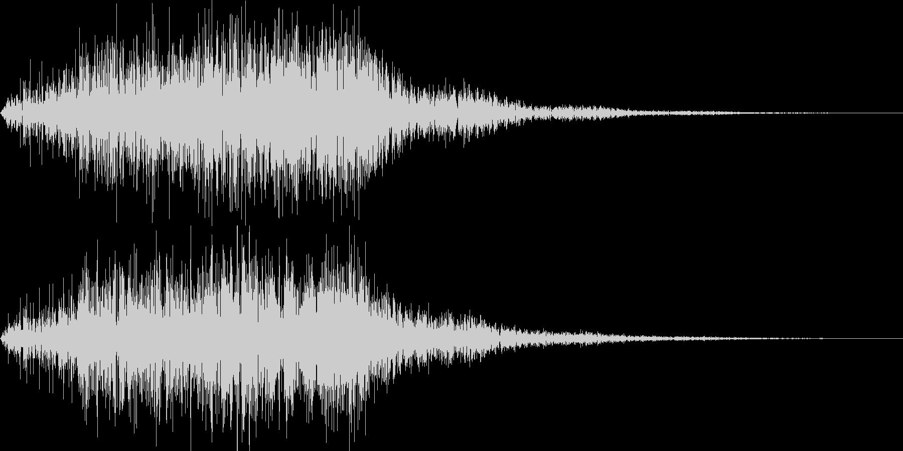 パワーアップやメーター溜まる音の未再生の波形
