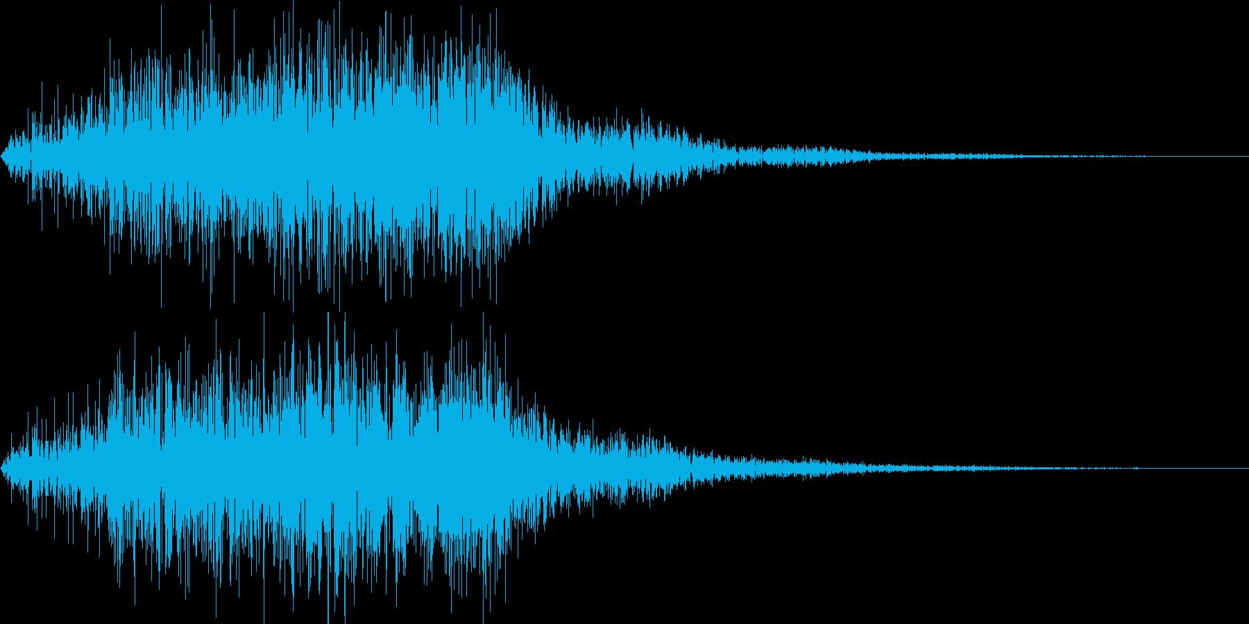 パワーアップやメーター溜まる音の再生済みの波形