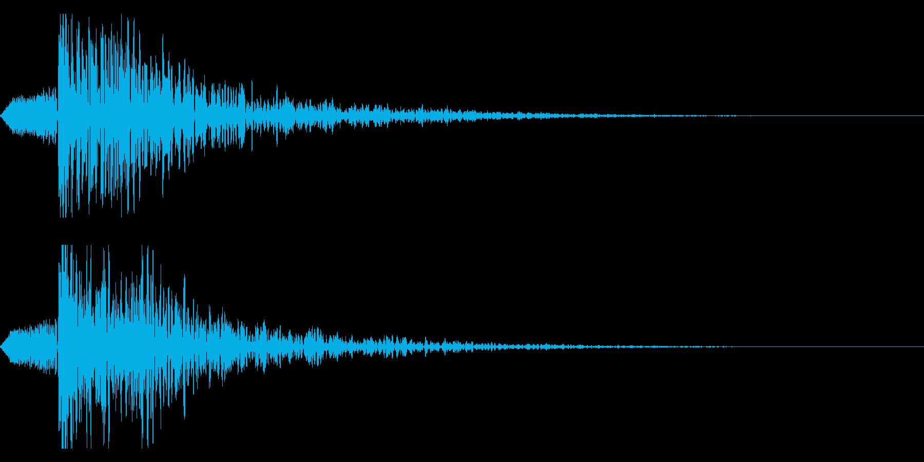 シネマティック ヒット インパクト!01の再生済みの波形